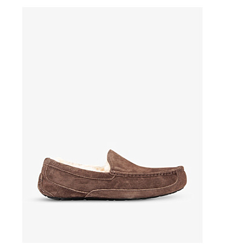 UGG Ascot loafers (Dark+brown