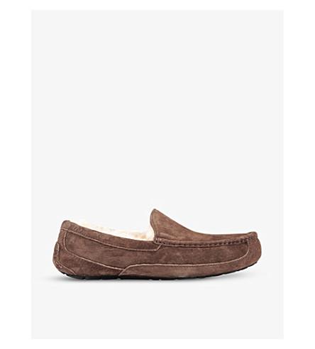 便鞋 (黑 + 棕
