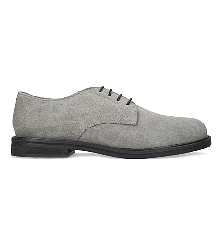 KURT GEIGER LONDON Hector suede derbies (Grey