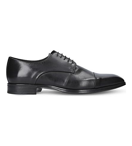 KURT GEIGER LONDON Alfie lace-up leather shoes (Black