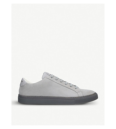 Pick A Best For Sale KURT GEIGER LONDON Donnie leather trainers Grey Buy Online Cheap Price Free Shipping For Cheap NTFqoJnMW