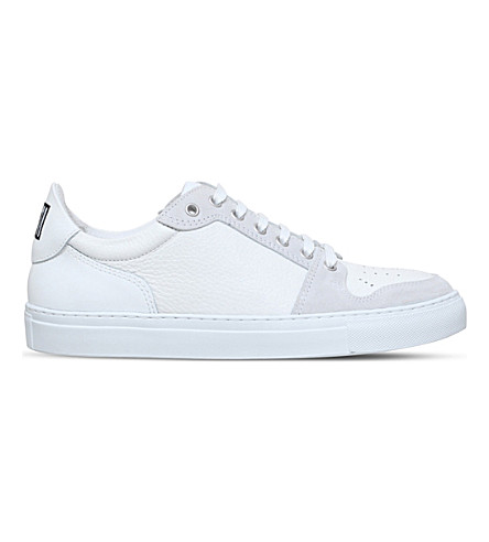 AMI PARIS Baske Basse low-top leather sneakers (White