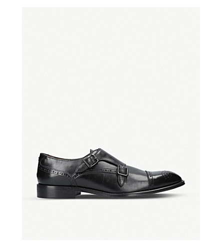 KURT GEIGER LONDON Raphael leather shoes (Black