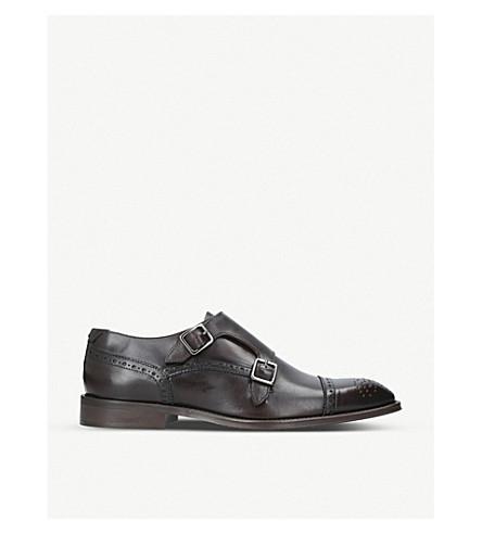 KURT GEIGER LONDON Raphael leather shoes (Brown