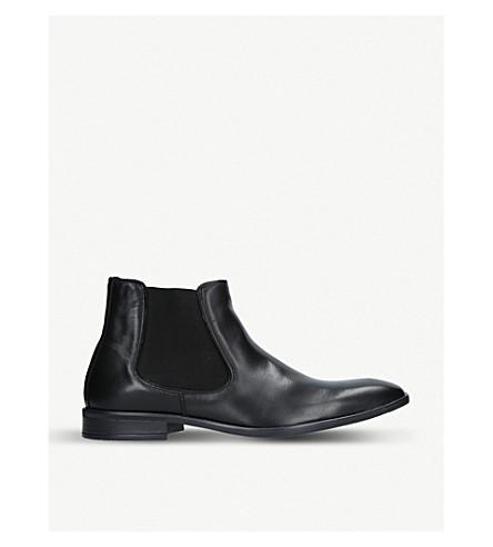 KURT GEIGER LONDON Frederick leather Chelsea boots