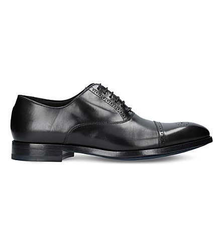 PAUL SMITH Bertin leather brogues (Black