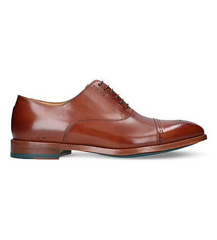 PAUL SMITH Bertin leather brogues (Tan