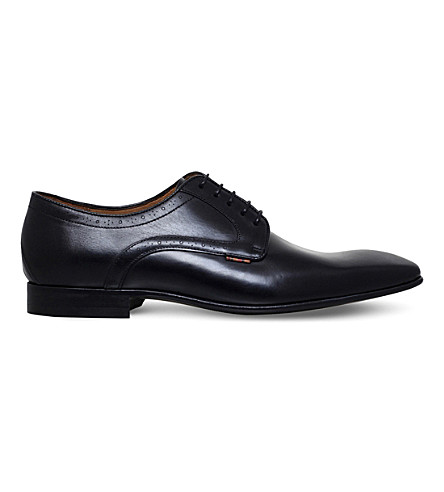 PAUL SMITH Roth leather Derby shoes (Black