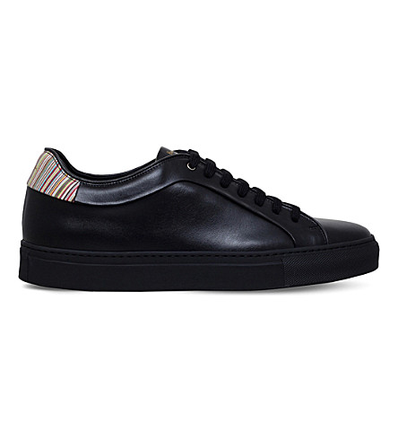 PAUL SMITH Basso leather trainers (Black