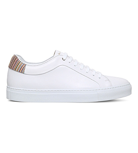 PAUL SMITH Basso leather sneakers (White