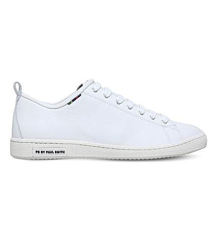 PAUL SMITH Miyata leather sneakers (White