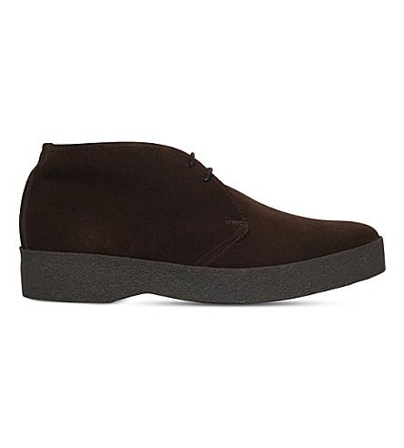 SANDERS Suede chukka boots (Brown