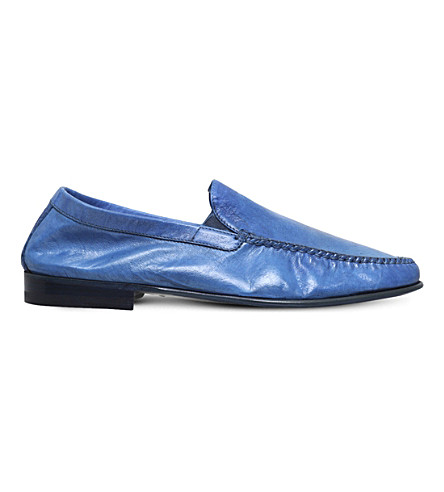BROTINI Leather loafers (Blue