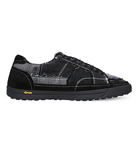 MYTHOGRAPHY Denim trainers (Black
