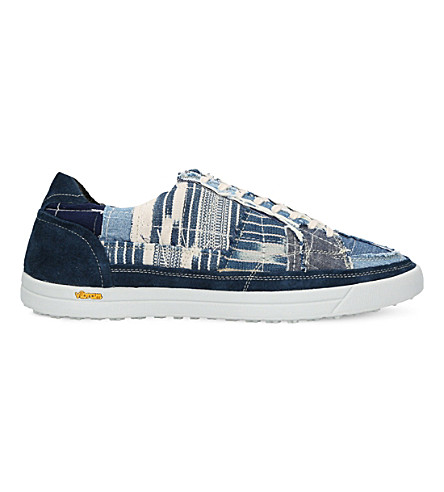 MYTHOGRAPHY Denim trainers (Blue