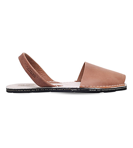 SOLILLAS Originals leather sandals (Tan