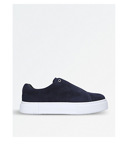 EYTYS Doja suede slip-on trainers (Navy