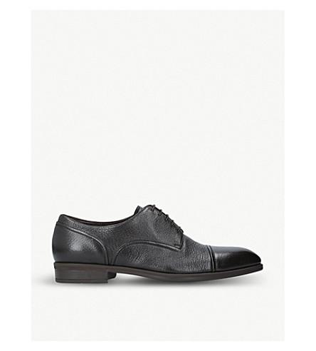 ERMENEGILDO ZEGNA Avenue Flex derby shoes (Brown