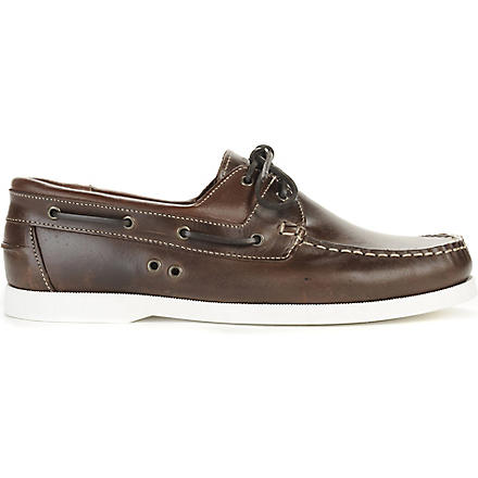 KG KURT GEIGER Sorrento boat shoes (Brown