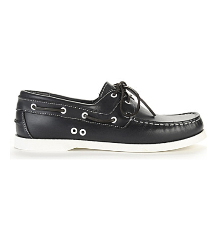 KG KURT GEIGER Sorrento boat shoes (Navy