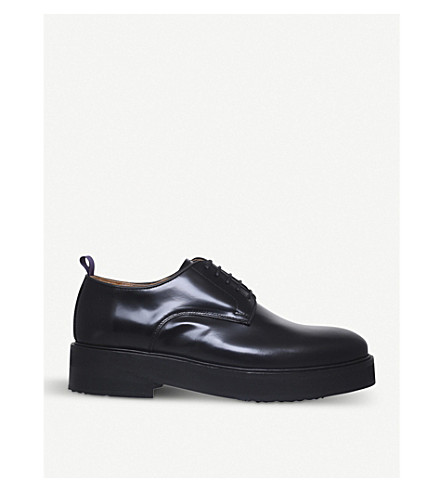 EYTYS Kingston lace-up leather Derby shoes (Black