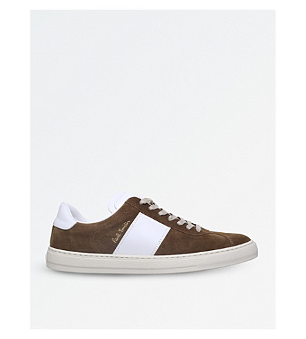 PAUL SMITH Levon suede trainers (Camel