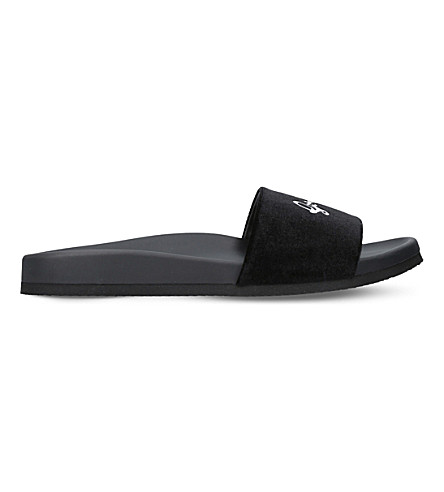 JOSHUA SANDERS Going Nowhere fabric pool slides (Black
