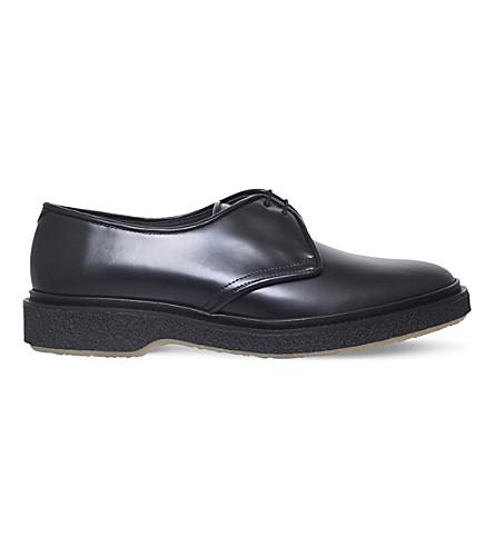 ADIEU Classic leather derby shoes (Black