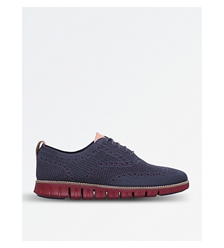 COLE HAAN Zerogrand knit oxford (Grey