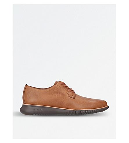 COLE HAAN Decon Grain Derby shoes (Tan