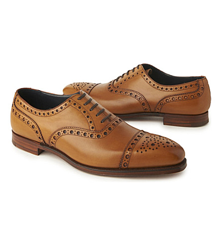 RICHARD JAMES Oxford brogues (Tan
