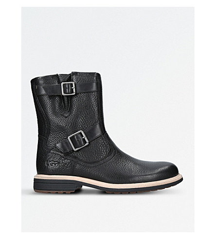 UGG Jaren leather boots (Black