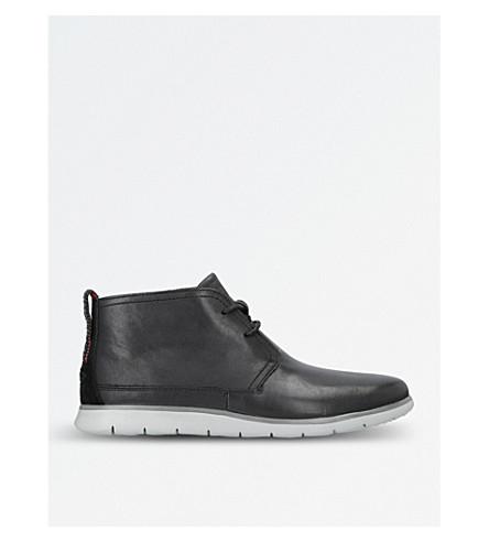 UGG Freamon waterproof leather chukka boots (Black