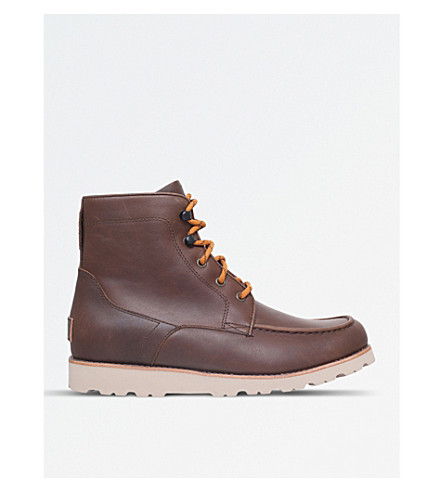 UGG Agnar leather boots (Brown