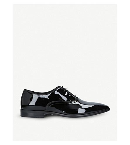 KURT GEIGER LONDON Ralph patent shoes (Black