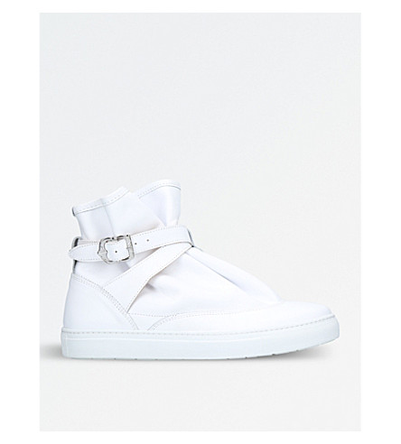 THE HIGHPAD Highpad leather trainers (White