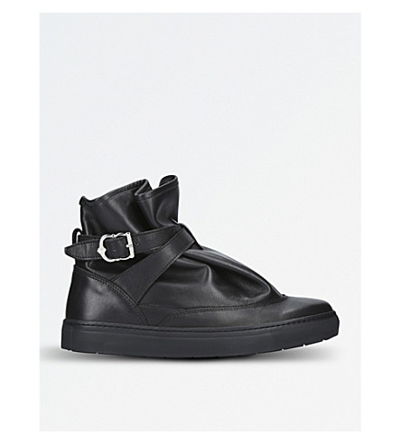 THE HIGHPAD Highpad leather trainers (Black