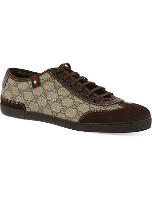 GUCCI Barcelona laced trainers
