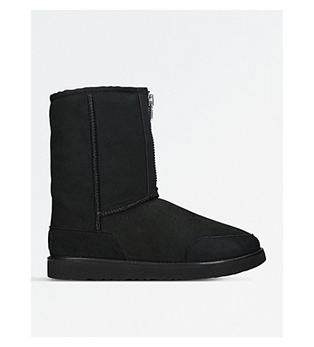 UGG 3.1 Phillip Lim Classic Short Zip sheepskin boots (Black