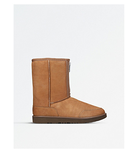 UGG 3.1 Phillip Lim Classic Short Zip sheepskin boots (Tan