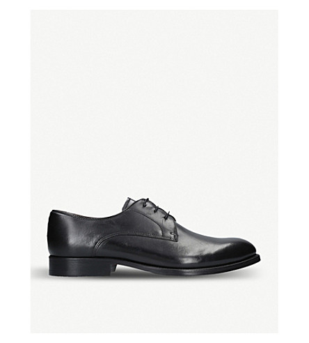 KURT GEIGER LONDON Albemarle leather oxford shoes (Black