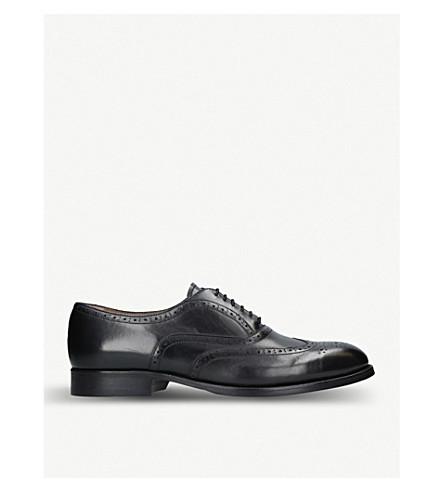 KURT GEIGER LONDON Grafton F leather brogues (Black