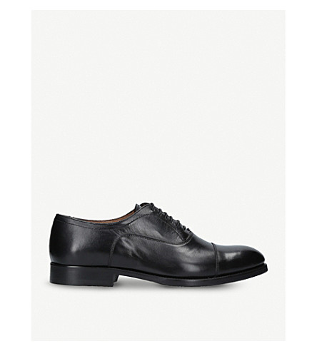 KURT GEIGER LONDON Burlington leather oxford shoes (Black
