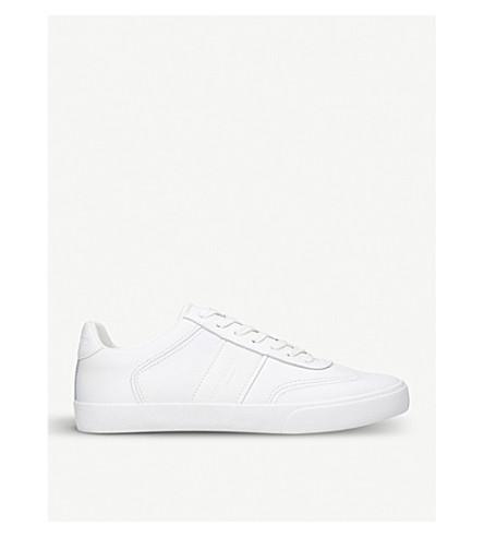 KURT GEIGER LONDON Alverez leather trainers (White