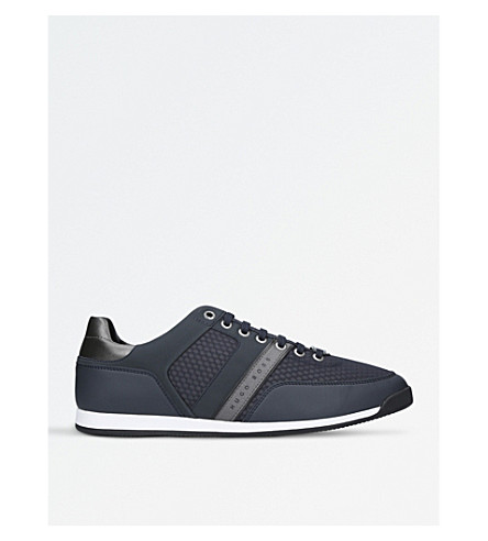 BOSS G Maze Low Pro mesh trainers (Navy