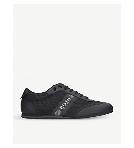 BOSS G Lighter Lo Pro knit trainers (Black