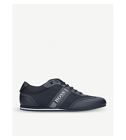 BOSS G Lighter Lo Pro knit trainers (Navy