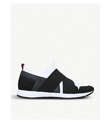 BOSS H Hybrid neoprene trainers (White/blk