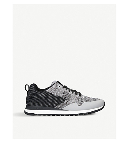 PAUL SMITH Rapid Runner low-top woven trainers (Grey/other