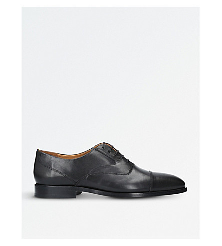 PAUL SMITH Tomkins leather Oxford shoes (Black
